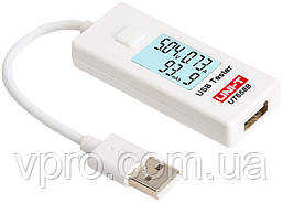 USB-тестер UNI-T UT658B для измерения напряжения, ёмкости, тока