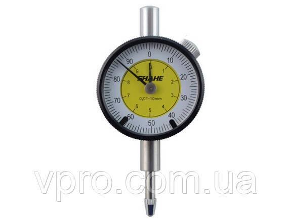 Индикатор часового типа с двумя стрелками Shahe ИЧ-10 0-10/0.01 мм (5304-10) без ушка