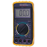 Цифровой мультиметр DT9205A (DCV 1000В, ACV 750В,DCA 20A, ACA 20A, 2ГОм, 200мкФ)