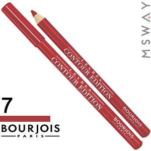 Bourjois - Карандаш для губ Levres Contour Edition - 07 cherry boom boom, фото 2
