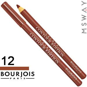 Bourjois - Карандаш для губ Levres Contour Edition - 12 chocolate chip