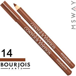 Bourjois - Карандаш для губ Levres Contour Edition - 14 sweet brown-le