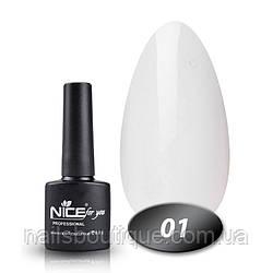 Гель лаки Nice 001,8.5ml (белый)