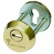Броненакладка Mul-t-lock SL3 титан PVD