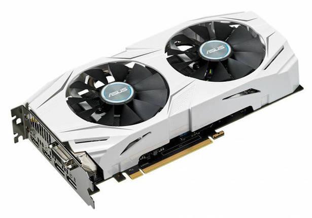 Видеокарта GeForce GTX1060 OC, Asus, 6Gb DDR5, 192-bit, DVI/2xHDMI/2xDP, 1809/8008 MHz (DUAL-GTX1060-O6G), фото 2
