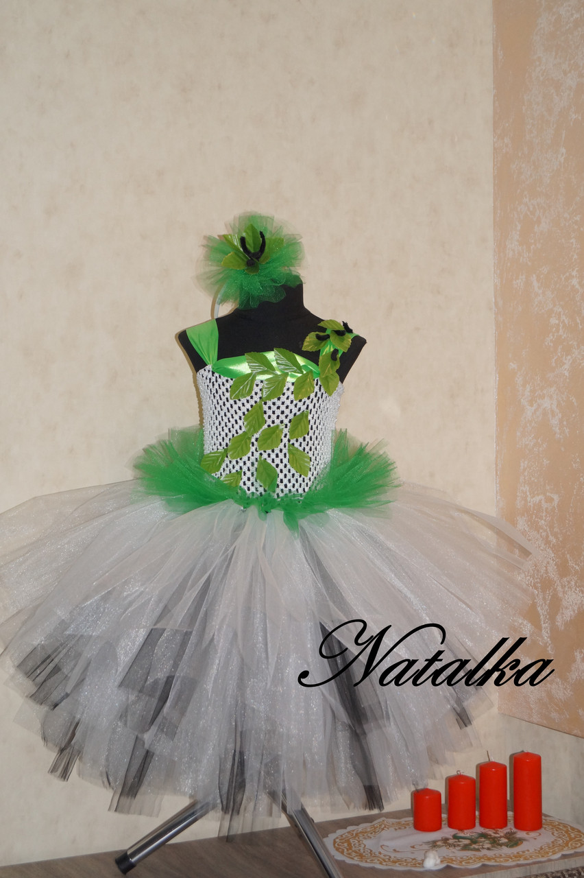 "Карнавальна сукня з фатину ""БЕРІЗКА"""