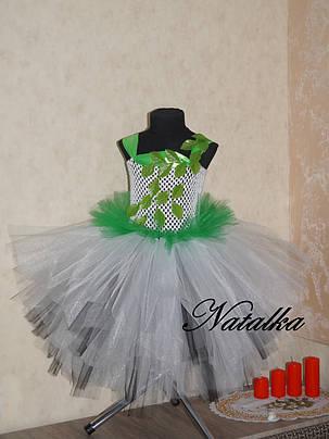 """Карнавальна сукня з фатину """"БЕРІЗКА"""", фото 2"""