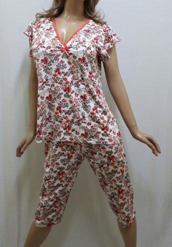 446400ada6df7 Пижама больших размеров с бриджами, размеры от 48 до 58 р-р, Харьков ...
