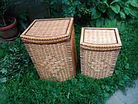 Ящики для белья выпуклые с окантовкой
