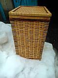 Ящик квадратный маленький с окантовкой, фото 2