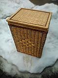 Ящик квадратный маленький с окантовкой, фото 4