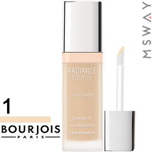 Bourjois - Корректор маскирующий Concealer Radiance Reveal жидкий Тон 01 ivory