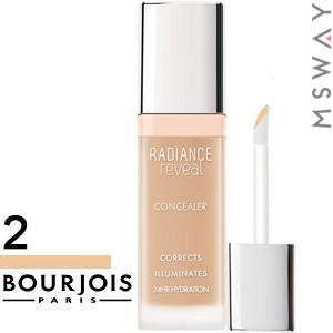 Bourjois - Корректор маскирующий Concealer Radiance Reveal жидкий Тон 02 beige