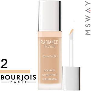 Bourjois - Корректор маскирующий Concealer Radiance Reveal жидкий Тон 02 beige, фото 2