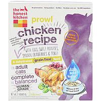 The Honest Kitchen, Рыскание, беззерновой обезвоженный корм для кошек, рецепт из курицы, 0,9 кг