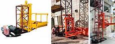 Высота подъёма Н-69 метров. Строительные мачтовые грузовые подъёмники ПМГ г/п 1000кг, 1 тонна., фото 2