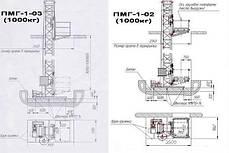 Высота подъёма Н-69 метров. Строительные мачтовые грузовые подъёмники ПМГ г/п 1000кг, 1 тонна., фото 3