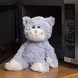 Мягкая игрушка-грелка Warmies Кот серый сидящий /war - 683626, фото 2