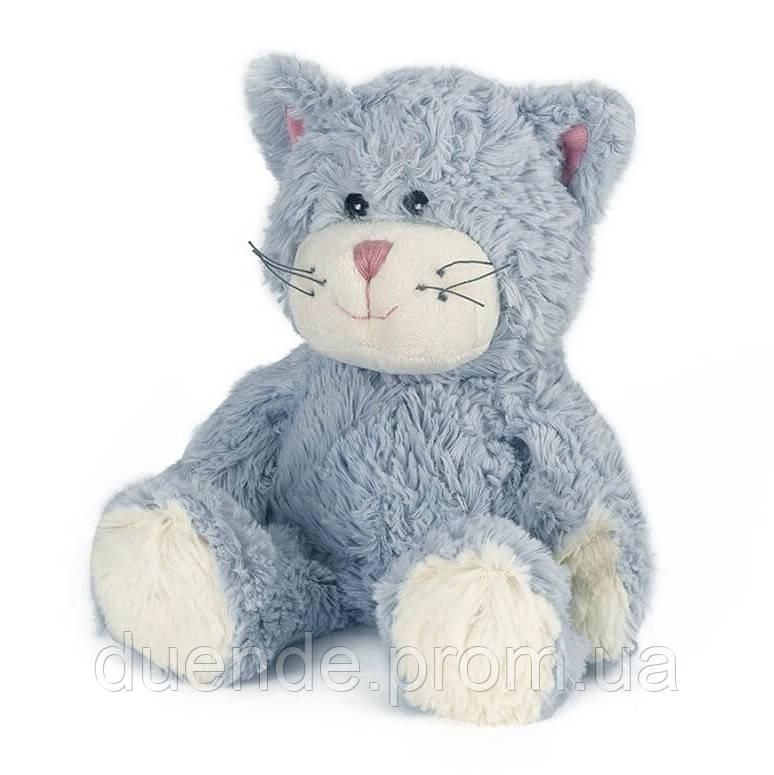 Мягкая игрушка-грелка Warmies Кот серый сидящий /war - 683626