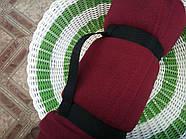 Плед с рукавами флисовый (бордовый), фото 2