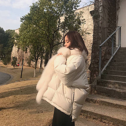 Белая куртка для девушек, фото 2