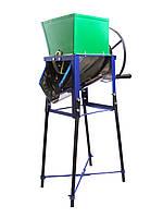 Корморезка ручная  (Кормоизмельчитель) со шкивом под двигатель «Коза-Нова»