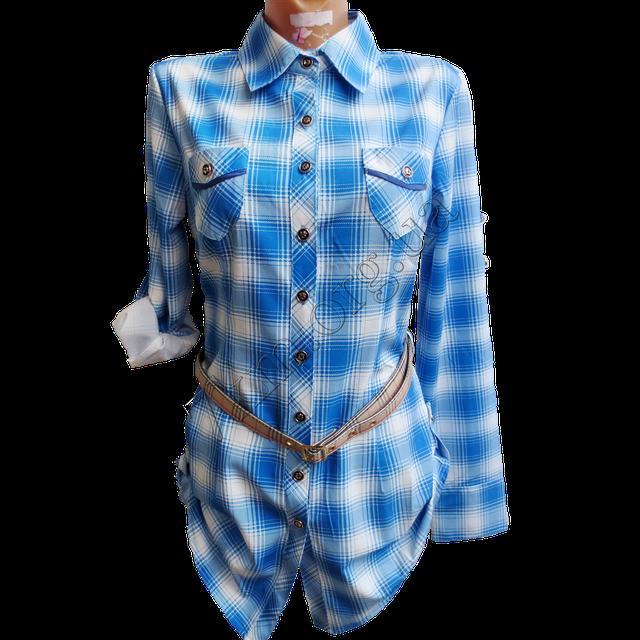 Рубашки женские поступили в продажу.