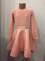 Платье для девочки с юбкой клеш 122-140 см, фото 1