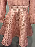 Платье для девочки с юбкой клеш 122-140 см, фото 2