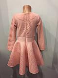 Платье для девочки с юбкой клеш 122-140 см, фото 4