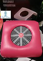 Вытяжка пылесос Si Mei 858-11 для маникюрного стола 30вт малина, фото 1