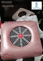 Вытяжка пылесос Si Mei 858-11 для маникюрного стола 30вт розовый принт, фото 1