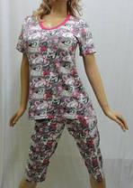 Пижама женская с бриджами от 50 до 62 р-ра, Харьков, фото 3