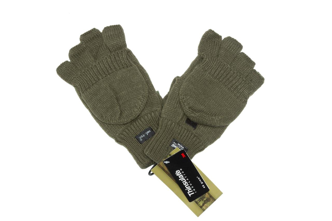 Перчатки беспалые с клапаном mil-tec Green