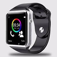 Cмарт часы телефон Smart Watch A1 (GT08) серый