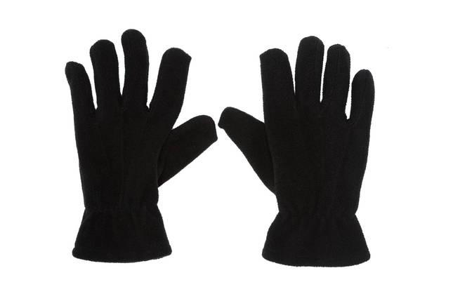 Перчатки зимние флисовые, reis rpolarex черные , фото 2