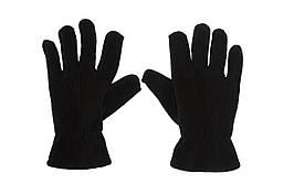 Перчатки зимние флисовые, reis rpolarex черные