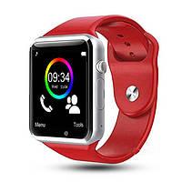 Cмарт часы телефон Smart Watch A1 (GT08) красный