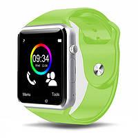 Cмарт часы телефон Smart Watch A1 (GT08) салатовый