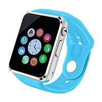 Cмарт часы телефон Smart Watch A1 (GT08) голубой