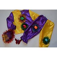 Карнавальный костюм скомороха петрушки