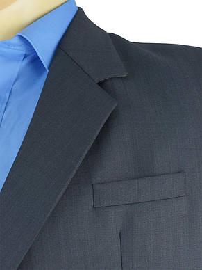 Темно-сірий чоловічий класичний костюм великого розміру Legenda Class 95 # 1, фото 2