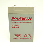 Аккумулятор Solomon 6V 5.5Ah