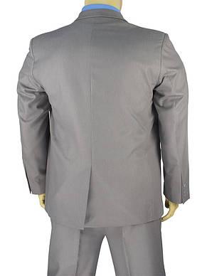 Класичний чоловічий костюм великого розміру Legenda Class 71680 # 11 у світло-сірому кольорі, фото 3