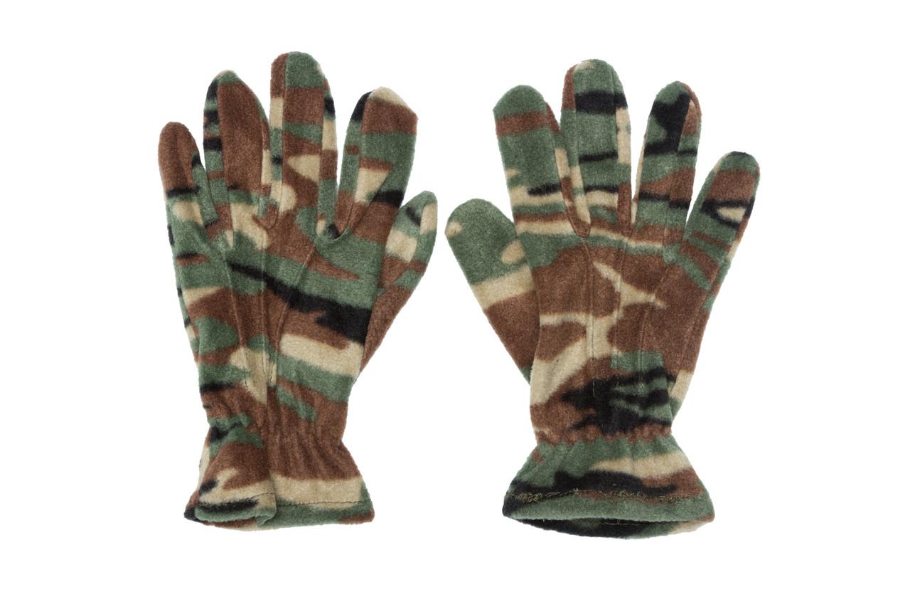 Перчатки зимние флисовые, reis rpolarex, камуфляж