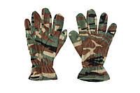 Рукавички зимові флісові, reis rpolarex, камуфляж