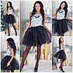 Фатиновая короткая юбка в расцветках a-5wa73, фото 2