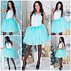Фатиновая короткая юбка в расцветках a-5wa73, фото 3
