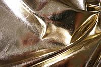 Кожа Металлик (Хром) Светлое золото