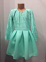 Платье для девочки с юбкой из неопрена 140,146 см, фото 1